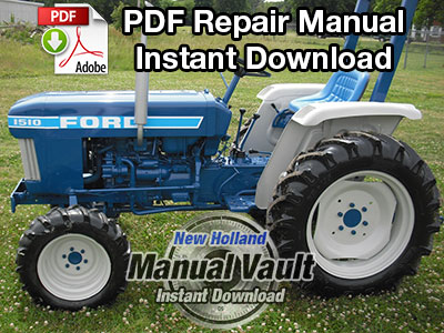 Ford 1310, 1510, 1710 Tractor
