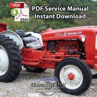 1954-1964 Ford 600 thru 1801, 2000, 4000 Tractor