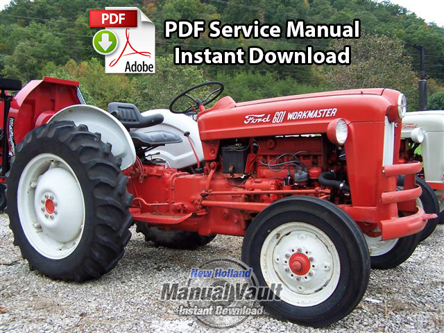 Ford Tractor 800 Series Specifications : Ford thru tractor service
