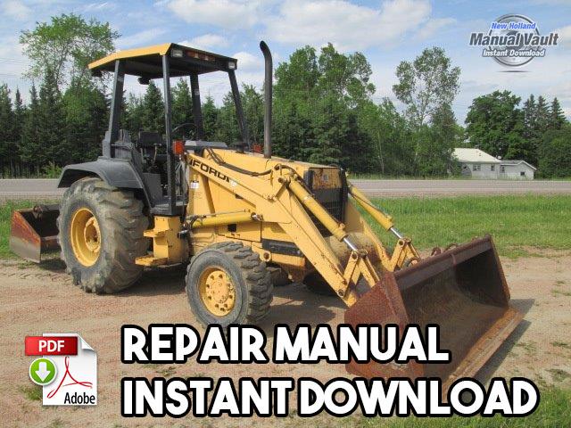 ford 455d 555d 575d 655d 675d backhoe loader tractor repair ford 455d 555d 575d 655d 675d backhoe tractor repair manual