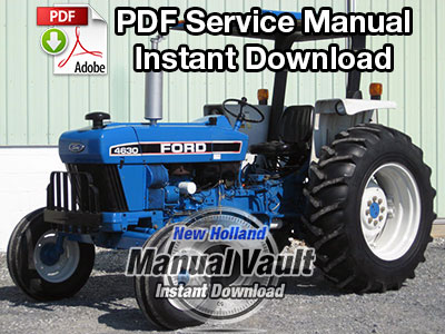 Ford Series 10 & Series 30 Tractor Service Manual (6 Volumes)