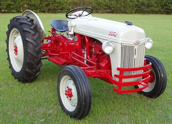 Ford 8n Tractor Dimensions : Ford n tractor factory service manual vault