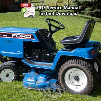 Ford LGT12 LGT14 LGT17 LGT18 Lawn Tractor