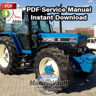 Ford 8340 Tractor