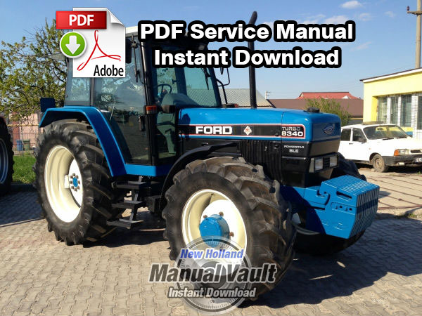 New Holland Tractor Manuals : Ford  tractor service