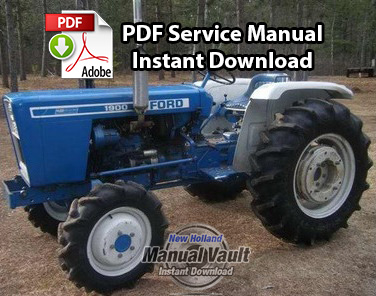 ford 1100  1200  1300  1500  1700  1900 tractor service
