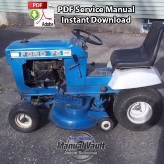 Ford 70 75 Lawn Tractor