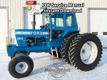 Ford 8000 8600 9000 9600 Tractor