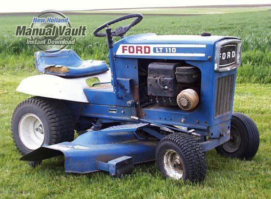 Ford Lawn Tractor Attachment Repair Manual Manual Vault