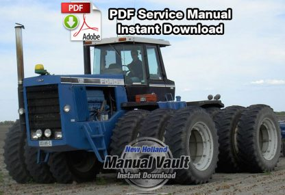 Ford Versatile 1156 Tractor