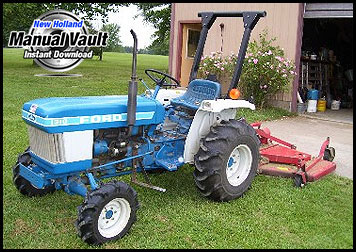Ford Yard Tractor Attachment