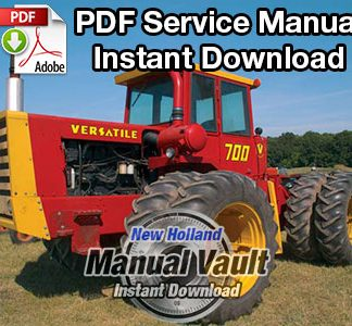 1972-1975 Ford Versatile 700, 900 4WD Tractor