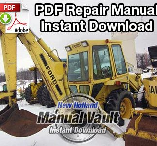 Ford 765 Backhoe Attachment