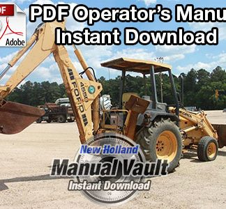 ford 455d, 555d, 575d, 655d, 675d backhoe repair manual - manual vault  ford new holland tractor service manuals - manualvault